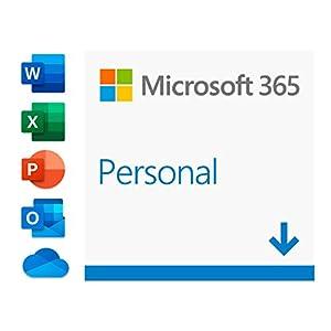 Microsoft 365 Personal | Software para 1 PC/MAC |1 tableta incluyendo iPad/Android/Windows, además de 1 teléfono