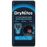Huggies DryNites - Confezione da 9 mutande per pigiama ad alta assorbenza, per bambini da 8 a 15 anni, colore: Nero