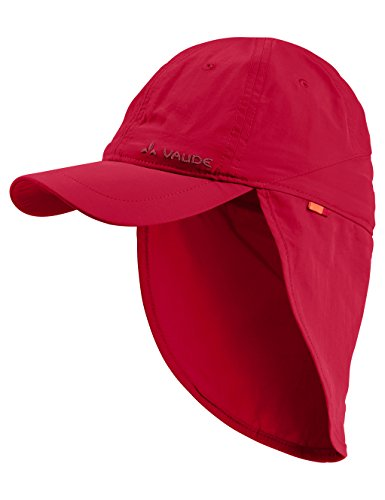 VAUDE Kinder Kappe Sahara Cap III, indian red, L, 031366145400