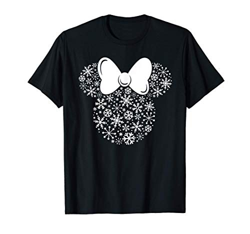 Disney Minnie Mouse Holiday Silhouette T-Shirt
