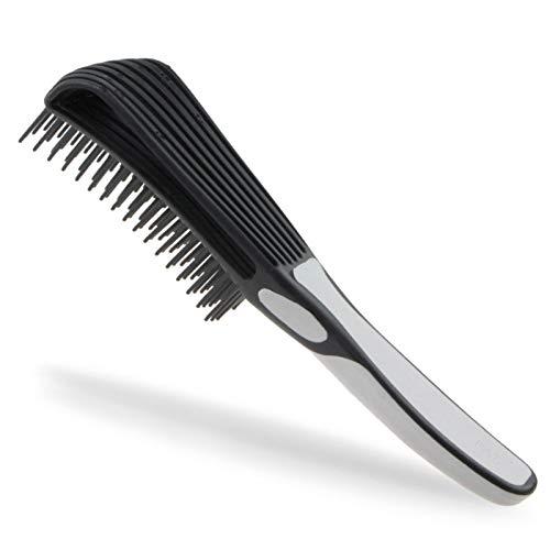 Cepillo desenredante natural para Afro texturizado 3a 4c Kinky ondulado, se adapta fácilmente con húmedo, pelo seco, cabello rizado, acondicionado, mejora la textura