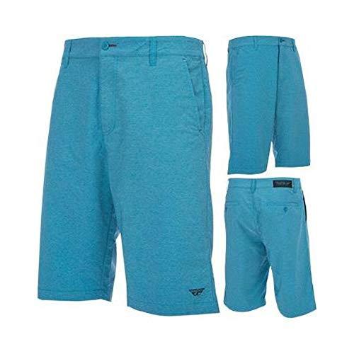 Fly Racing Unisex-Adult Pilot Shorts (Blue, Size 36)