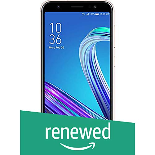 (Renewed) Asus Zenfone Max M1 ZB556KL-4G002IN (Gold, 3GB RAM, 32GB Storage)
