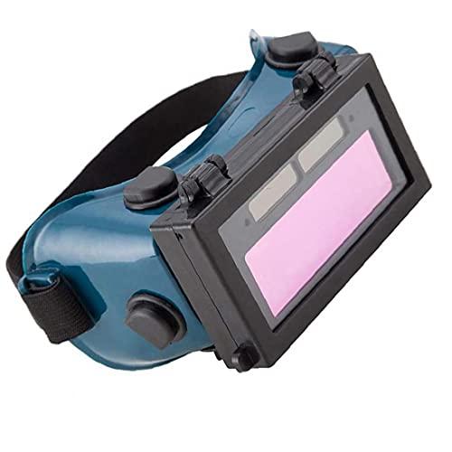 Soldadura Gafas Automización automática Solar Powered LCD Soldador Eye Protección de ojos Equipo Equipo Diario Hardware, Construcción Hardware y productos de seguridad