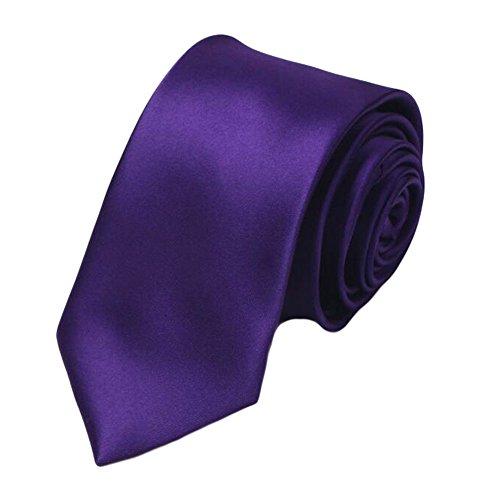 Black Temptation Mariage Epoux Cravates/Mode noeuds papillon/cravate/écharpe/Neckwear-Violet