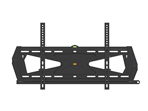 Black Adjustable Tilt/Tilting Wall Mount Bracket with Anti-Theft Feature for Sharp Aquos Quattron LC-70LE750U 70' inch LED HDTV TV/Television