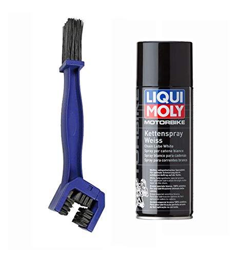 LIQUI MOLY + LAMPA Kit de limpieza lubricante para cadenas de moto...