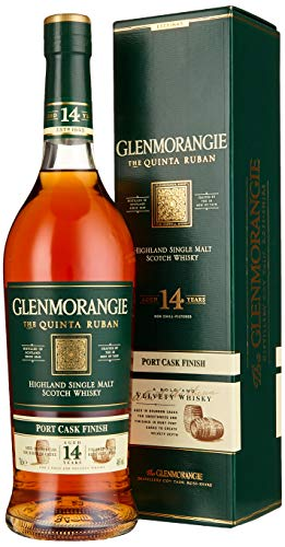 Glenmorangie The QUINTA RUBAN 14 Years Old Highland Single Malt Scotch Whisky (1 x 0.7 l)