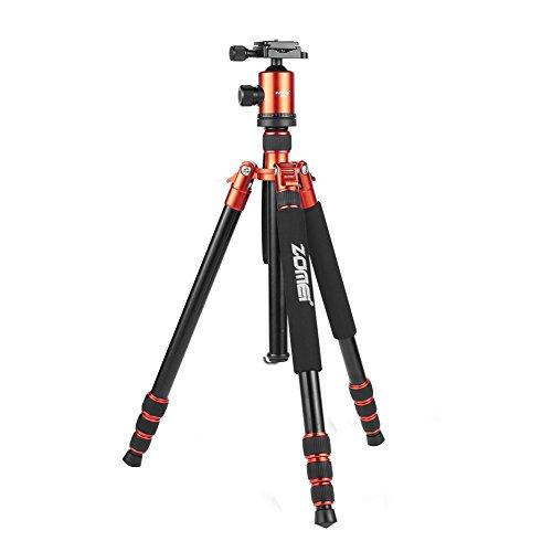 Trípode Zomei Z 818 de 65 pulgadas cámara compacta de aluminio y magnesio desmontable