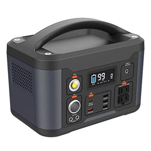 139200Mah 540Wh Power Station - Alimentatore di Emergenza Portatile di Backup con Torcia A LED per Campeggio, Casa, CPAP, Viaggi, All aperto
