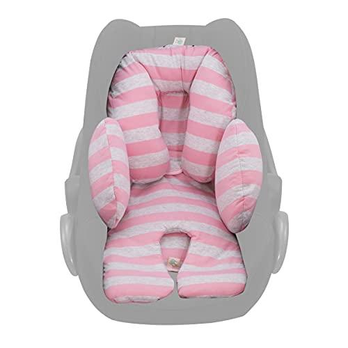 JANABEBE Réducteur anti-allergique universel pour nouveau né, bebe, Enfant (Pink Island, 3 pièces (NOUVEAU))