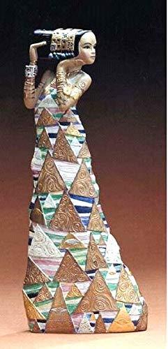 Estatua - La expectativa - basado obra Gustav Klimt