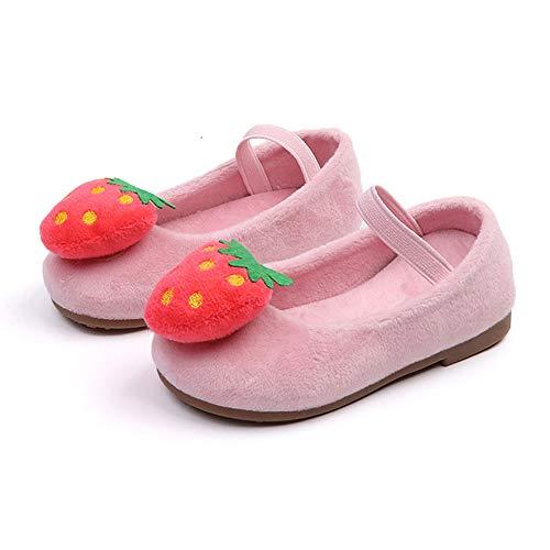 uBabamama u4, Plateforme bébé fille - - Pink-strawberry, 26 EU