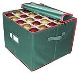ProPik Large Christmas Ornament Storage Box, Organizer Holds Up to 75 Xmas Ornaments...