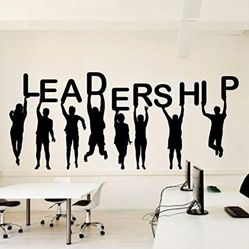 Yaonuli kantoor geleiding succes Wall Decal ideeën teamwerk business Worker Excite decoratieve stickers