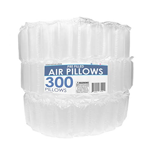 Innovative Haus 300 Count 4x8 Air Pillows for Filling Void...
