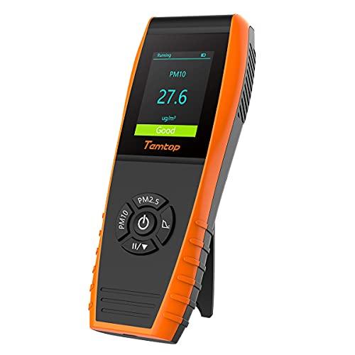 Temtop p600 air quality monitor professional particle sensor pm2. 5...