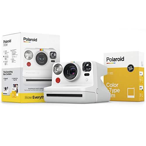 Polaroid - 6025 - Polaroid Now Weiss Everything Box - inkl. 2X Color Film für i-Type