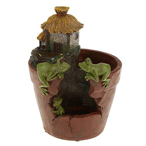 MagiDeal Resina Rana Vaso Portavasi per Cactus Succulente Fiore Pianta da Giardino Decorazioni