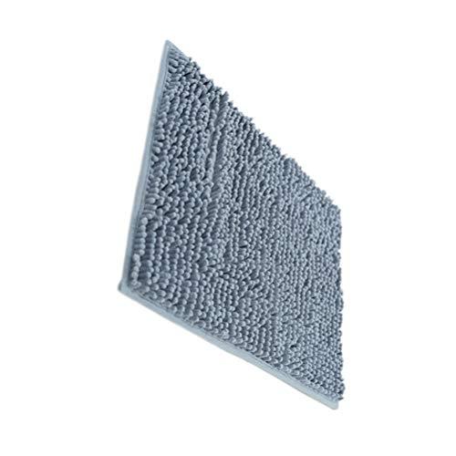 TOPBATHY Badkamertapijt Antislip Zacht Absorberend Microfiber Badmat Kleed Voor Badkuip Badkamer Keuken Donkergrijs S