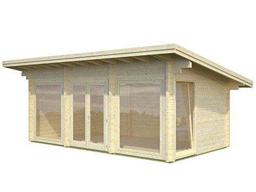 Palmako Blockbohlenhaus Heidi 19,7 70 mm natur