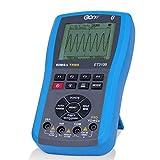 Wireless Bluetooth Professional Handheld Digital Oscilloscope Multimeter 80M Sampling 20MHz Analog Bandwidth 4000 Counts AC/DC Voltmeter Ammeter Manual Auto Temperature Test LCD display