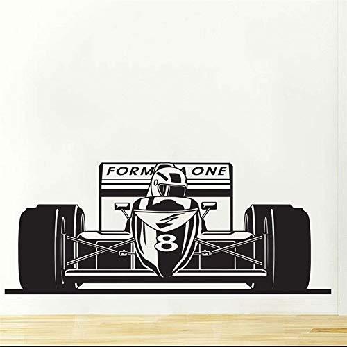 stickers muraux bebe disney Formule Formule Un Racing Voiture De Sport Garçons Chambre Décor Stickers Mode pour enfants Nusery Room