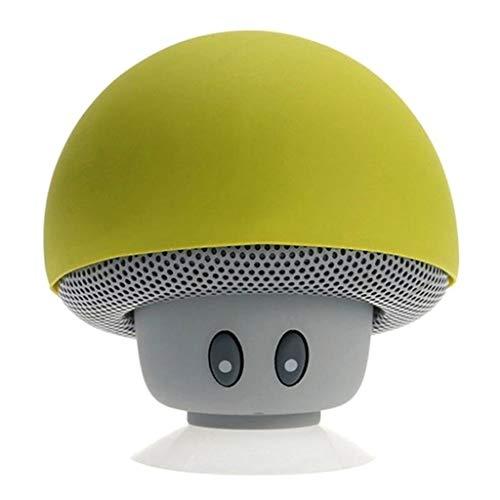 ZHENGX Mini Wireless Bluetooth-Lautsprecher MP3-Musik-Player mit mic wasserdichter tragbarer Stereo-Bluetooth-Pilz-Lautsprecher für Telefon-PC Z2
