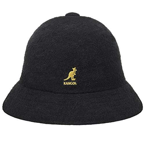 Kangol Herren Bermuda Casual Bucket Hat Classic Style - Schwarz - X-Large