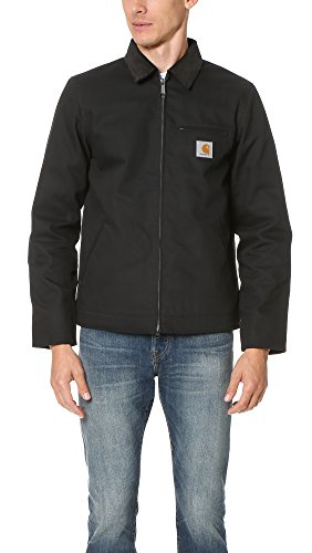 Carhartt Herren Detroit Jacket Jacke, Schwarz (Black Rigid), XL