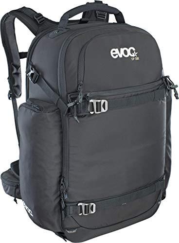 EVOC CP 35l Outdoor Kamerarucksack professioneller Fotorucksack für Fotoequipment (Gepolstert, ergonomisches Tragesystem, Gurtsystem für Eisäxte, Ski, Snowboard oder Stativ), Schwarz