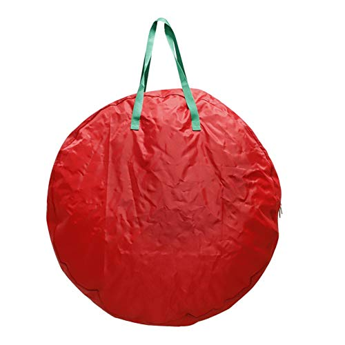zhoufeng Storage Bag Christmas Tree, Sum Oxford Cloth Christmas Wreath Storage Bag 30-inch Christmas Wreath Large Storage Bag, Used to Store Christmas Tree Garland Household Storage Items