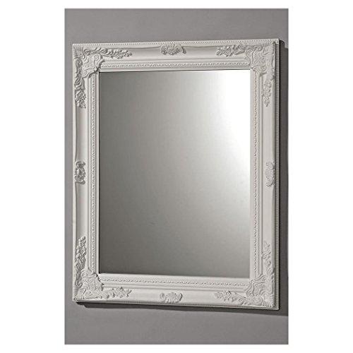 Di Alta Qualità Specchio in Weissmodell Barocco 82x62cm