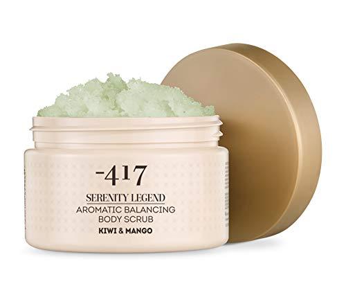 -417 Dead Sea Cosmetics Kiwi & Mango aromatisches Körperpeeling - Pflegendes und Peeling für glatte, weiche und verjüngte Haut - mit Weizenkeimöl - Ganz natürlich 15,8 Unzen Serenity Legend Collection
