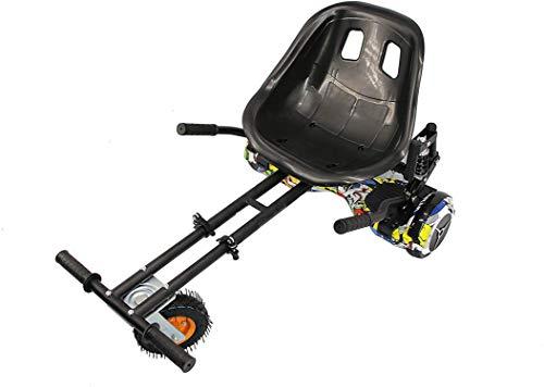 Zerimar Hoverkart | Kart per Hoverboard | Adatto per Hoverboard | Hoverboard Kart | 6,5/8 / 10'' | Misure: 52x42x21 cm
