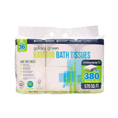 Galaxy Green Bamboo Bath...