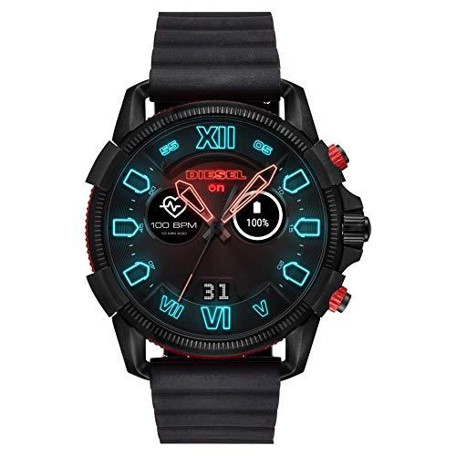 Diesel Herren Smartwatch mit Silikonarmband DZT2010 (Überholt)