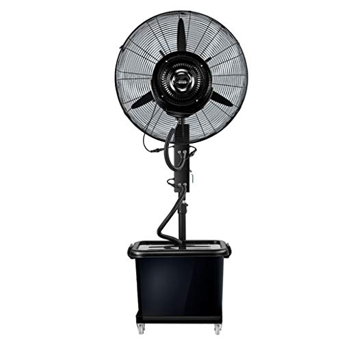 Ventilator voor airconditioning, ventilatorkachel, industrieel, staande ventilator, oscillerend, verticaal, luchtbevochtiger