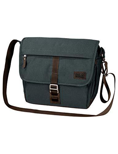 Jack Wolfskin Unisex-Erwachsene Camden Town sac à bandoulière Umhängetasche, Grau (Greenish Grey), One Size