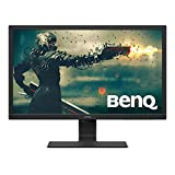 BenQ 24 Inch 1080P Monitor | 75 Hz for Gaming | Proprietary Eye-Care Tech |Adaptive Brightness for...