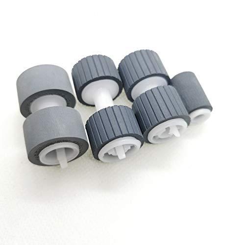 Accesorios de impresora 1 JUEGO NUEVO B12B813581 Kit de montaje de rodillo de separación de alimentación de recogida de rodillo Compatible con el escáner Epson WorkForce DS-860 DS-760 DS86RKIT1 (Color