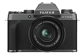 Fujifilm X-T200 Mirrorless Digital Camera w/XC15-45mm F/3.5-5.6 OIS PZ Lens - Dark Silver (B08438WQM4) | Amazon price tracker / tracking, Amazon price history charts, Amazon price watches, Amazon price drop alerts