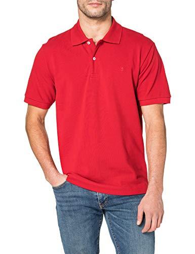 Seidensticker Herren Business Poloshirt Pique - Herren Polohemd Classic - Regular Fit - Kurzarm - 100{638344341339af717a054e5c2ef108df95e163f578fdd4973cf481824f5fc315} Baumwolle, rot, L