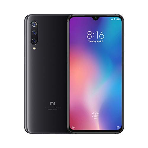 "Xiaomi Mi 9 Smartphone, 64 GB, display AMOLED 6.39"", 2280x1080, Snapdragon 855 Octa-core, 6 GB RAM, Tripla Fotocamera 48+16+12 MP, Nero Onice [Versione italiana] …"