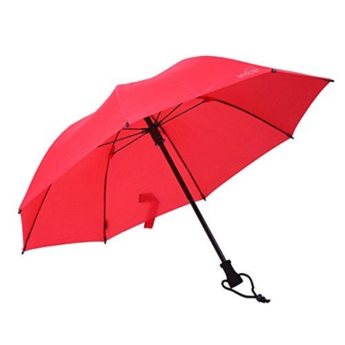 Göbel Birdiepal Outdoor Regenschirm/Trekkingschirm, rot
