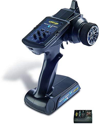 Carson FS Reflex X2 2-Kanal 2.4G, Fernsteuerung, mit Empfänger, Sender, Modellbau, Zubehör für RC Fahrzeug/ferngesteuertes Auto, 500500049