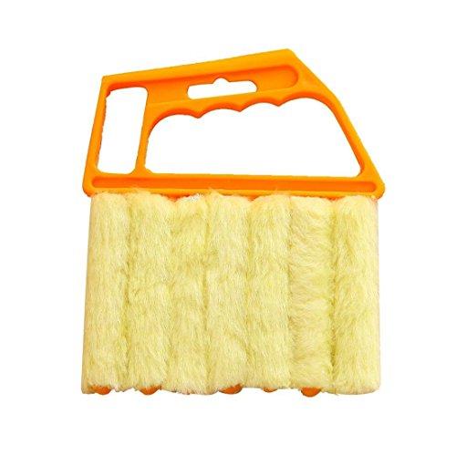 Lowest Prices! Bagvhandbagro Blind Cleaner Tool, Mini Hand-held Cleaner,Mini-Blind Cleaner,Dirt Clean Cleaner,Venetian Blind Brush Window Air Conditioner Duster Cleaner