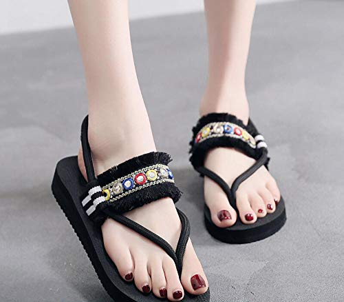 Zapatos para Mujer-Sandalias de Tacon Alto de Aguja-Elegantes-Novia-Boda-Nupcial-Vestido de Fiesta,Chancletas inferiores gruesas...