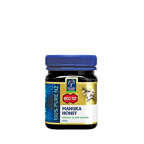 Manuka Health - MGO 100+ Manuka Honey, 100% Pure New Zealand Honey, 8.8 Ounce