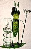 Maison en France Gartenstecker Regenmesser 125 cm, Regenmesser Grashüpfer- schöne Verarbeitung, stabile Ausführung